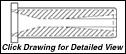 "STYLE F3SV: 1.5 DIAMETER FLANGE - SHORT VENTURI - 4.125"" LENGTH"