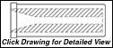 STYLE F3 & F4: 1.5 DIAMETER FLANGE - STRAIGHT BORE