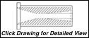 "STYLE F6SV: 1.9375 DIAMETER FLANGE - SHORT VENTURI -  4.125"" LENGTH"