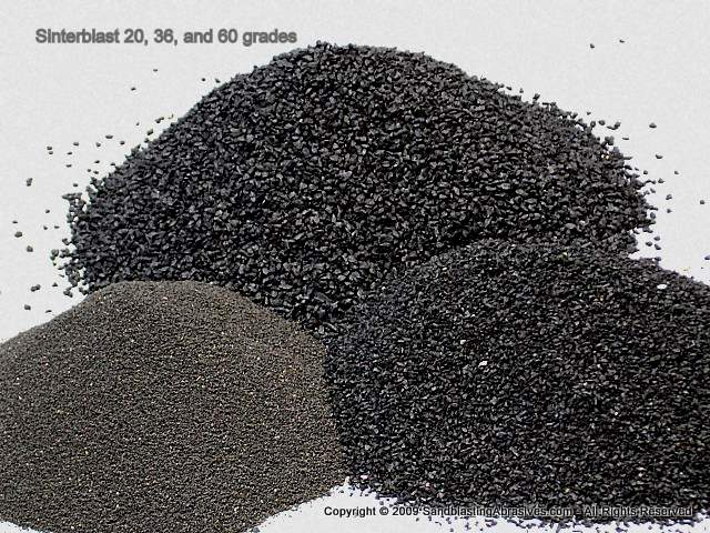 Sinterblast, Common Antiskid Grades