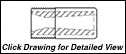 "STYLE T5SV: 1.0 - 14 NF - SHORT VENTURI 2.0"" LENGTH"