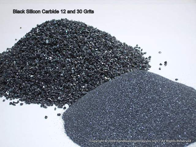 Silicon Carbide, Black