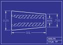 Boron Carbide Sandblasting Nozzle: Tapered (TP): You Pick Bore Size & Length