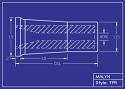 Boron Carbide Sandblasting Nozzle: Tapered (TPR): You Pick Bore Size & Length