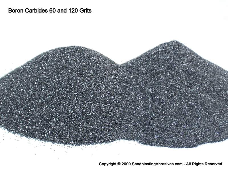 Boron Carbide for Particle Packing Applications