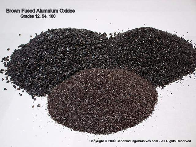 Aluminum Oxides Abrasive Media For Sandblasting Rust