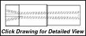 "Super Titan Tungsten Carbide Sandblasting Nozzles VNLV: 1.25"" - 11.5 NPSM - VENTURI"