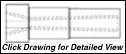 Super Titan Tungsten Carbide Sandblasting Nozzles V25M: 50mm THREAD - ENTRY VENTURI