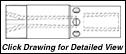 """Super Titan Tungsten Carbide Sandblasting Nozzles VNDV: 1.25"""" - 11.5 NPSM - DOUBLE VENTURI"""