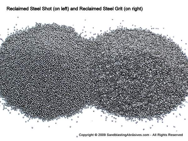 Reclaimed Steel Grit & Grit