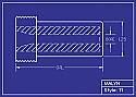 Boron Carbide Sandblasting Nozzle: T1 Series, You Pick Bore Size & Length