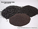 Aluminum Oxide, Brown Fused Sandblasting Abrasive, Coarser Grades 8 through 240, 50 lbs or More