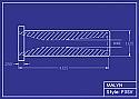 Boron Carbide Sandblasting Nozzle: Short Venturi F3 & F4 Series, You Pick Bore Size